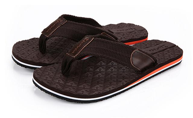2016 лето мода бренд мужской вьетнамках сандалии резиновая подошва пляжные сандалии ...