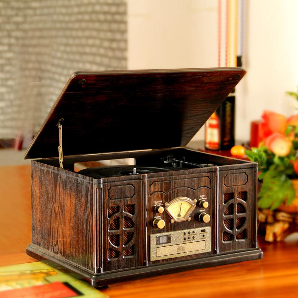 Engraved archaize phonograph records gramophones CD machine radio unique furnishing articles vinyl restoring ancient ways(China (Mainland))