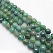 Perles de pierre de brin en vrac rondes assorties naturelles de gemme pour le collier à faire soi-même Bracelet bijoux faisant la taille de choix 4 6 8 10 12 14mm(China)