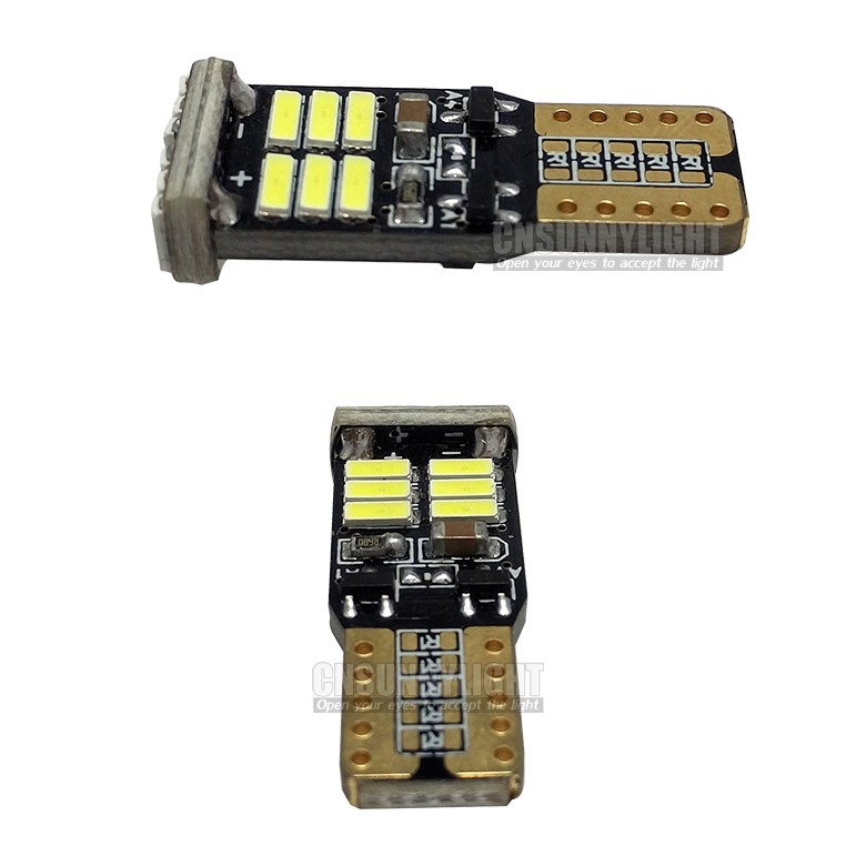 2Pcs Top Quality High Power T10 w5w Led 12V Xenon White Car Light Fog Lamp Interior Light w5w T10 Canbus Error Warning Free (7)