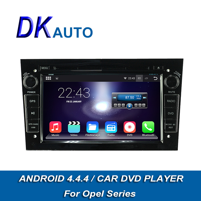 Car Audio GPS Navigation For Opel 2 Din 7 Inch HD Canbus Android 4.4.4 OS Car Radio with BT TV Music 3G WIFI DVR DVD OBD DVB-T(China (Mainland))