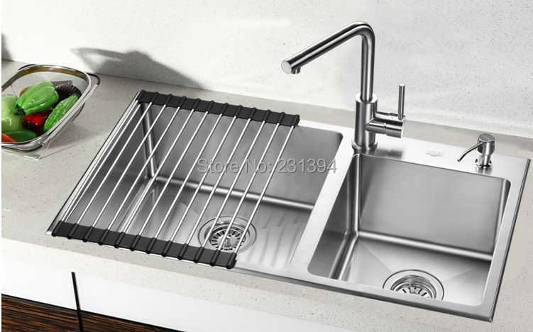 Popular Double Drainer Kitchen Sink Buy Cheap Double