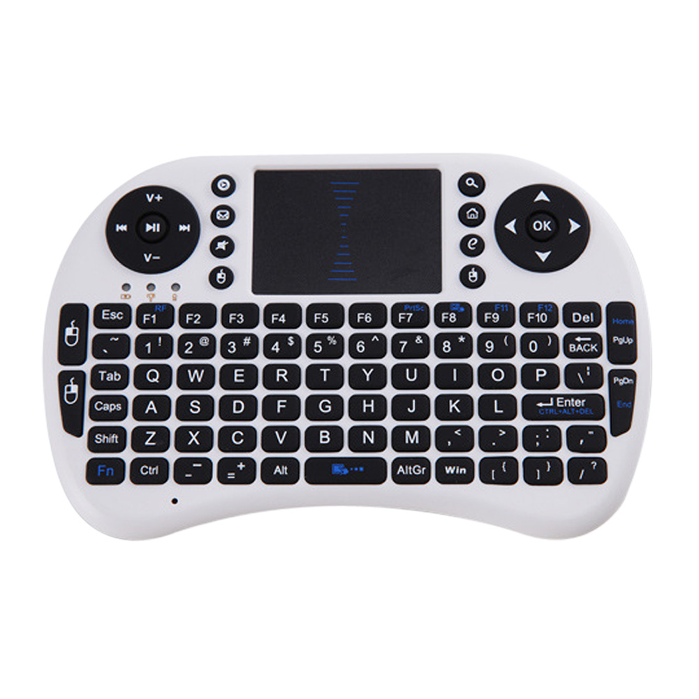 Mutilfunction 2.4G Wireless Keyboard Touchpad Air Mouse Recheable Remote Control Keyboard for PC Pad Andriod TV Box