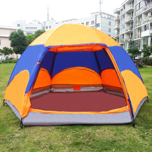 4-5 Person Tents, Queen Size Outdoor Camping Tent