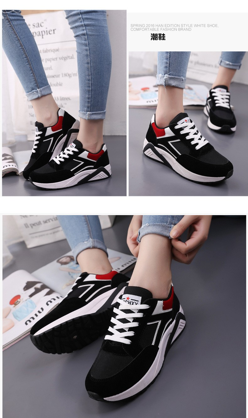 2016 Fashion Women Shoes Women Casual Shoes Comfortable Damping Eva Soles Platform Shoes For All Season Hot Selling