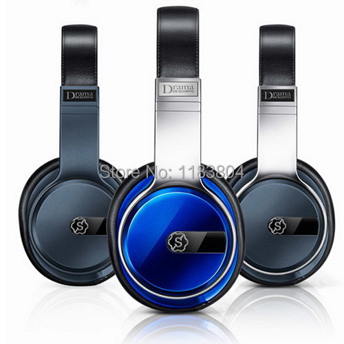 Donscorpio Drama foldable high-end foldable headphone headset earphone with microphone & remote & carrying case package(China (Mainland))