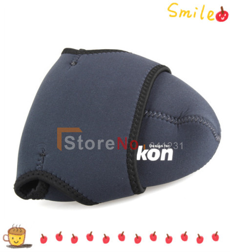 Free shipping 15pcs  Size -M Neoprene Camera Cover Case Bag Pouch Protector for  D40 D40X D60 D80 D90 D5000 D300 D700DSLR<br><br>Aliexpress