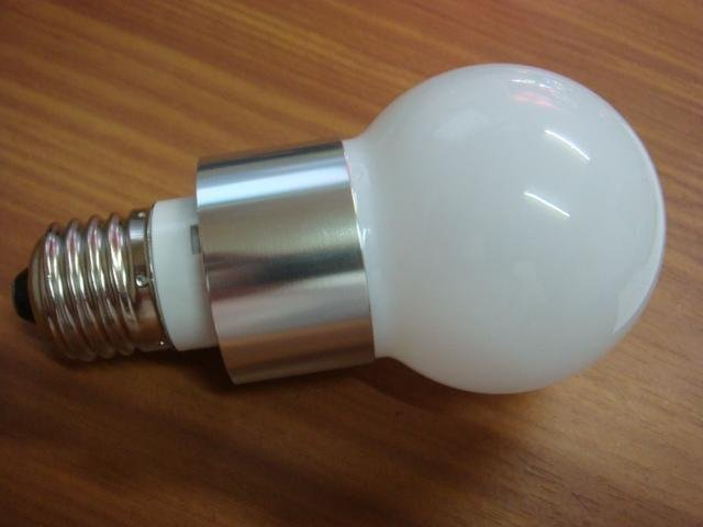 high power led bulb, E27 base;3*1W;cold white,P/N:CMR-E27G6005