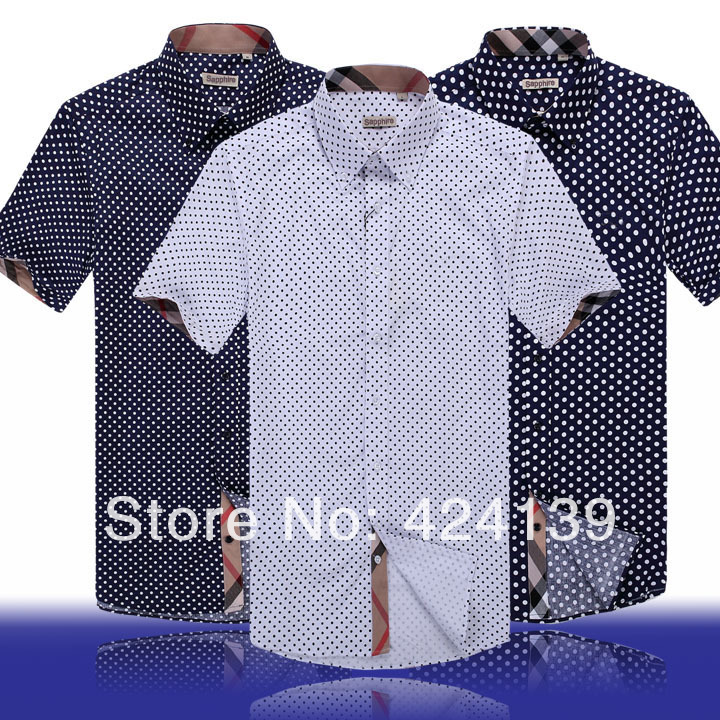 New Mens Shirts Top Brand Casual Slim Fit Mens Dress