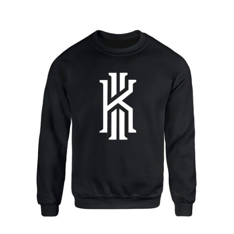 2017 New Kyrie Irving Logo Hoodie Casual Men Sweatshirt Hoodies Fashion Fleece Hoodie Sportswear Suit Pullover Men Tracksuits