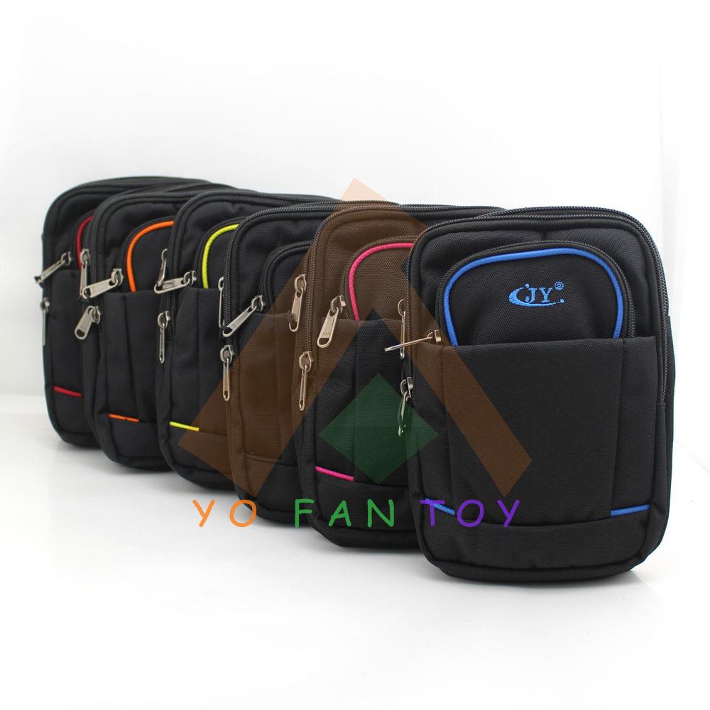 Utility Single Shoulder Bag Waist Pack Soft Belt Handbag Mess Mobile Phone Pouch Travel Hiking Running Outdoor Sports Case - Yofantoy Int'l Trade Limited store