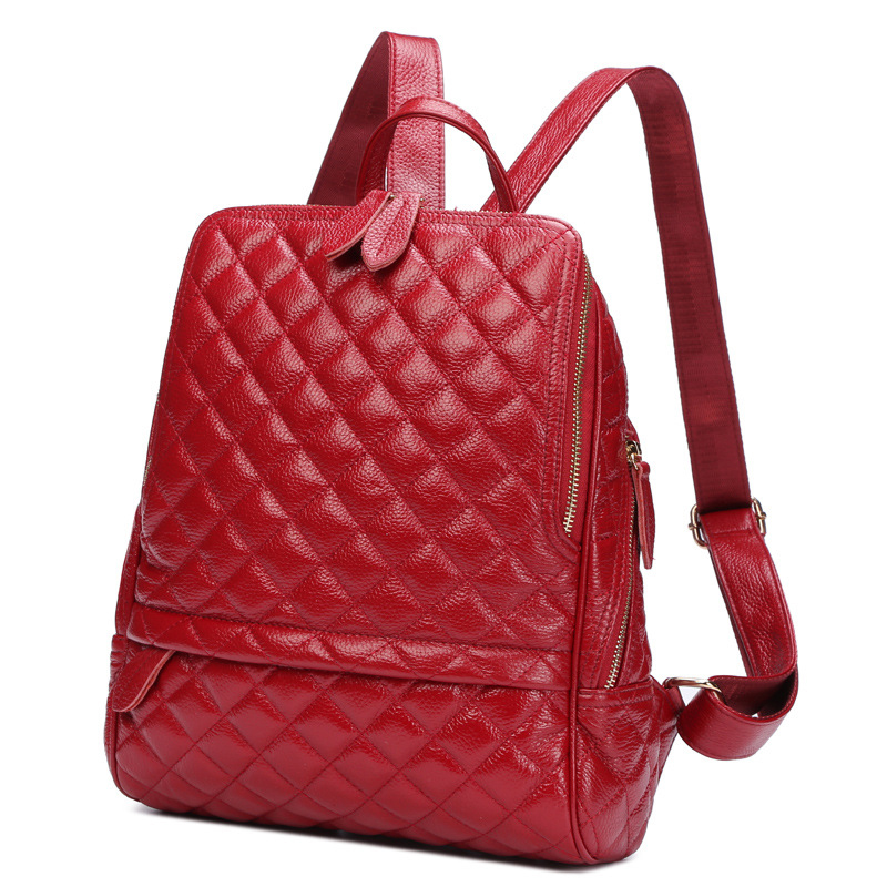 European and American Style real cowhide fashion women backpacks school bags casual women shoulder bags hand bags for woman<br><br>Aliexpress