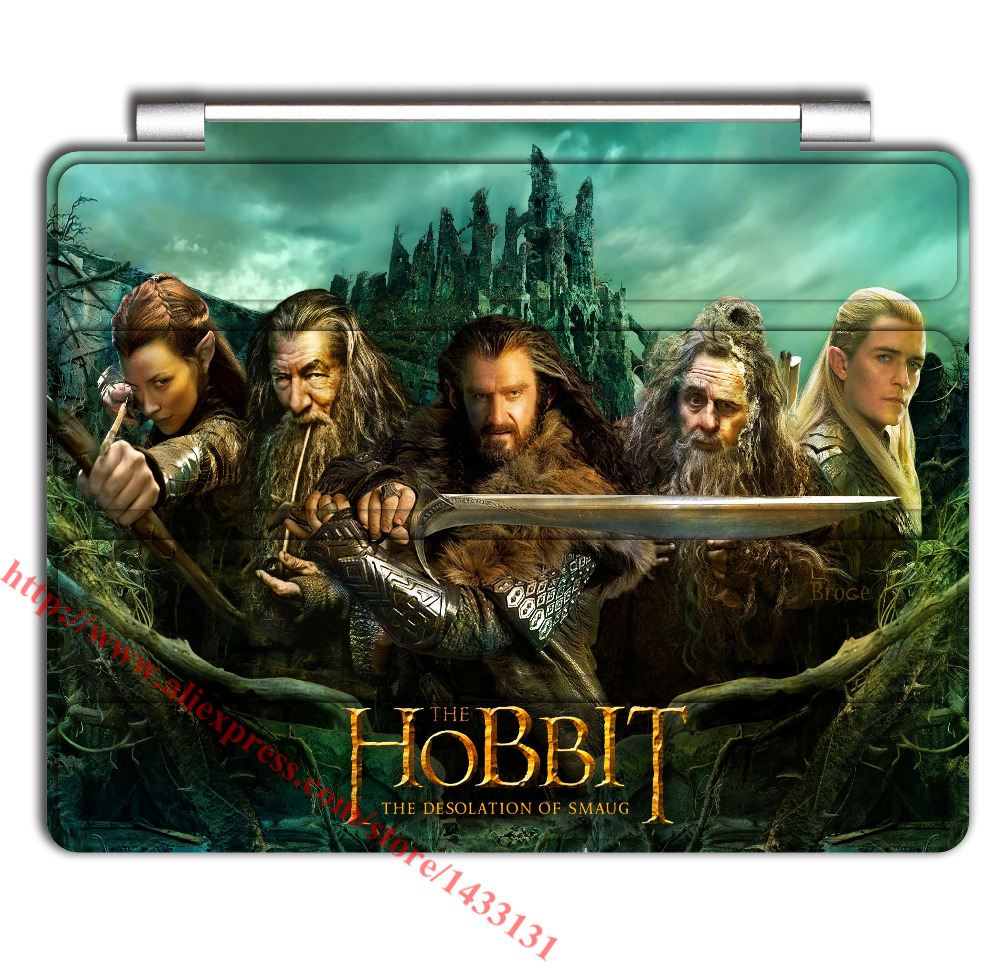 film the hobbit cool leather+pc case For iPad mini 1/2/3,Cover For ipad 2/3/4/5/6/air/air 2 gen skin shell covers cases(China (Mainland))