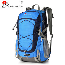 2016 New Arrival High Quality Waterproof Polyester Fabric Professional Climbing Bags 40L Camping Hiking Outdoor Sport Backpack(Hong Kong)