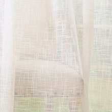 GIGIZAZA Solid Window Tulle Curtains for Living Room Bedroom Custom White Yellow Blue Pink Sheer Voile Kitchen Curtains Home Dec(China)