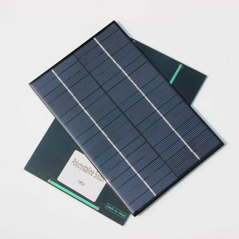 BUHESHUI 4.2W 18V Small Solar Panel/Polycrystalline Silicon Solar Cells DIY Solar Module For Solar Power System 2pcs/lot New(China (Mainland))