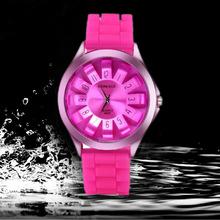 Casual Watch Unisex Quartz watch 9 color men women Analog wristwatches Sports Watches Silicone watches