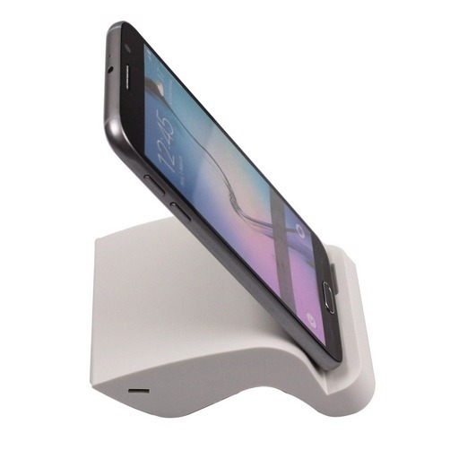 S Type Deskstop Sync Charger Dock Cradle Chargering station Samsung Galaxy S6 Edge G9200,White - Mangood store
