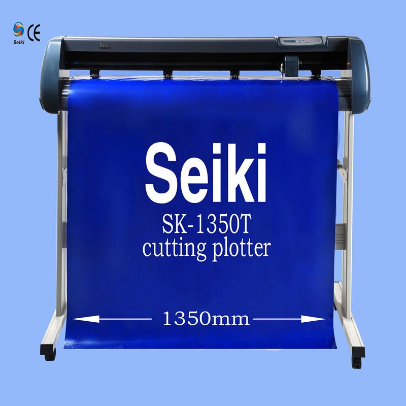 factory direct sell digital vinyl cutter/vinyl cutting plotter sk-1350T(China (Mainland))