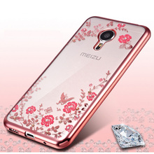 Secret Garden Luxury Plating TPU Silicone Case Meizu M3S Cases Mini M3 Note U10 Cover Soft Phone - KK Star store