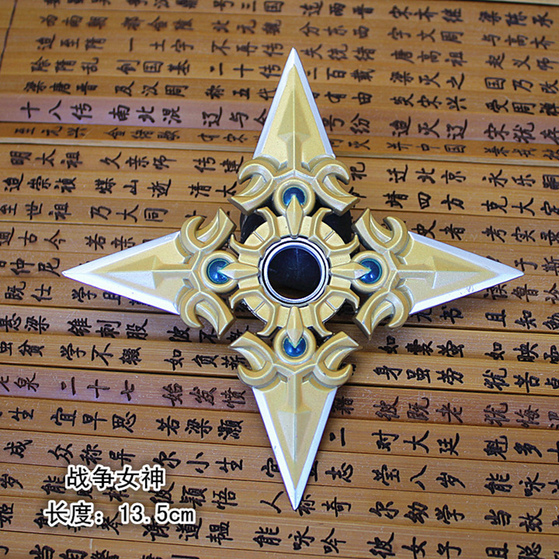 So Cool Game Genji Darts Alloy Metal Weapon Model Rotatable Darts Cosplay Props for Collection Fidget Spinner Hand Anti stress