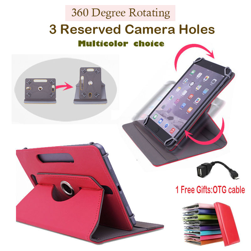 """For Ainol Novo 9 Spark/Spark II/Spark 2 9.7""""inch 360Degree Rotating Universal Tablet PU Leather cover case Free OTG(China (Mainland))"""