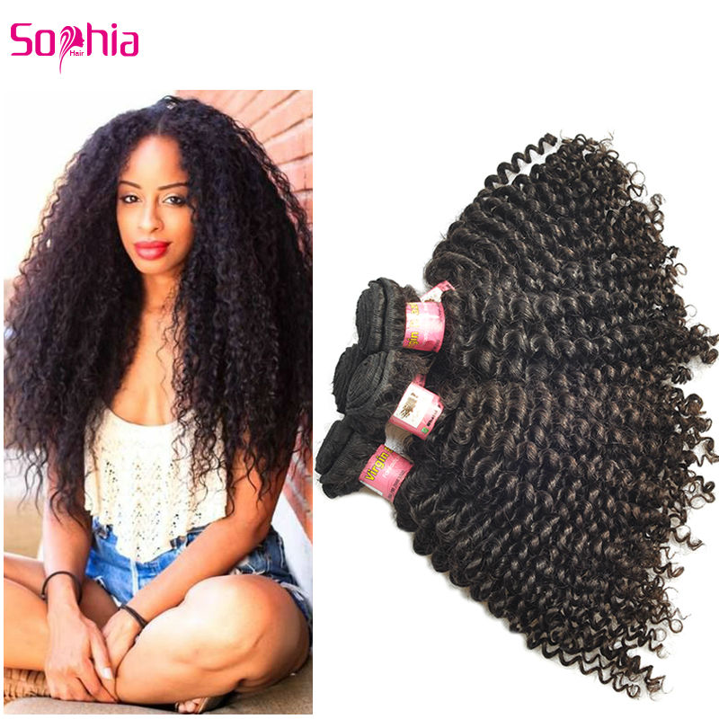 5 pieces/lot Brazilian Virgin Hair Kinky Curly Weave Bundles,Rosa Hair Products 6A Virgin Brazillian Hair Jerry Curly Extensions<br><br>Aliexpress