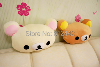 2pcs 50cm Japan Kawaii Cute Rilakkuma Pillow Cushion Plush Toy Bear Stuffed Animal Doll For Wedding Decoration Gift aniversario<br><br>Aliexpress
