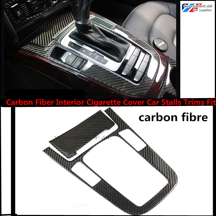 Free shipping Carbon Fiber Interior Cigarette Cover Car Stalls Trims Fit For Audi A4 B8 09-15<br><br>Aliexpress