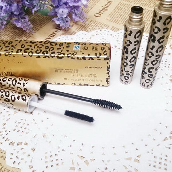 2PC Set Natural Fiber Hot Unique 3D Mascara Eyelashes Long Curl Lashes Extension(China (Mainland))