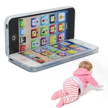 Nouveau Enfants Enfant YPhone Musique Mobile Téléphone Étude Jouet Éducatif de Cadeau Chaud(China (Mainland))