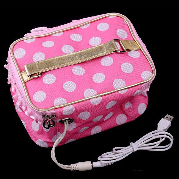 high quality usb lunch box bento boxes warming heating bag. Black Bedroom Furniture Sets. Home Design Ideas