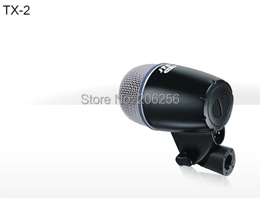 Bass Instrument Microphone JTS TX-2 Dynamic Supercardioid Microphone For Kick Drums Stage microphone Bass Guitar Amps(China (Mainland))