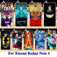Buy Phone Cases Xiaomi Redmi Note 4 Covers Redmi Prime Pro Note4 Prime Pro Housin Bags Cat Tiger Soft TPU Hard PC Shell Case for $1.28 in AliExpress store