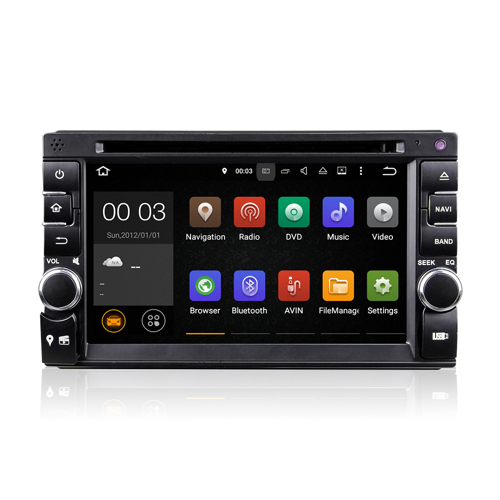 LY Quad Core Android 5.1 car dvd 2din universal Car DVD Player double din Stereo GPS Navigation car radio android 2din in dash(China (Mainland))