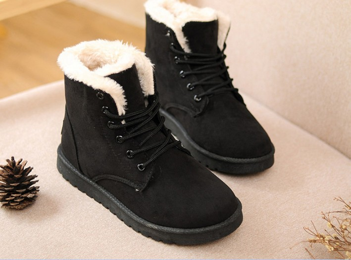Aliexpress.com : Buy Autumn and winter boots snow boots female ...