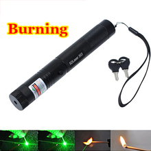 High Power Burning Laser Pointer Sdlaser 303 2000mw 532nm Powerful Green Laser Pointer Pop Ballon Astronomy Lazer Pointers Pens(China (Mainland))
