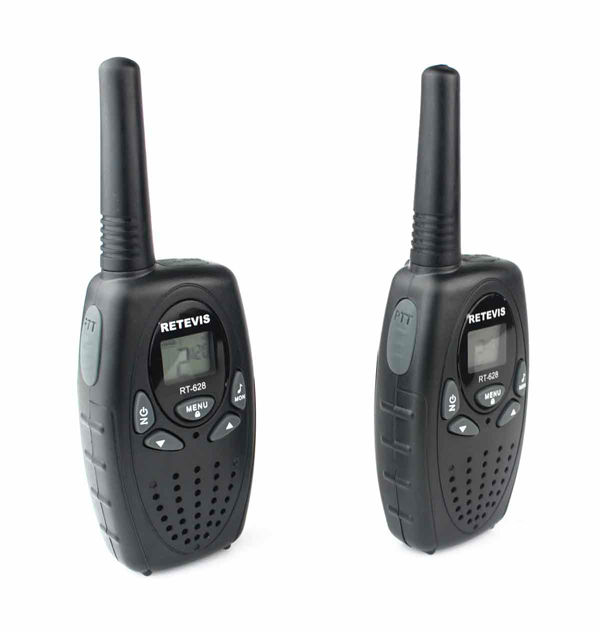 2pcs a pair A1026B RETEVIS RT628 Walkie Talkie 0.5W UHF Europe Frequency 446MHz LCD Display Portable Two-Way Radio 8CH PMR radio(China (Mainland))