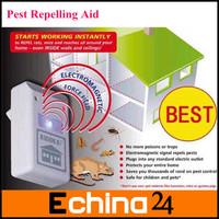 High Quality Eco-Friendly Riddex Plus Pest Repelling Aid Mouse Repeller RAT SCARE EU Plug 220V Free Shipping