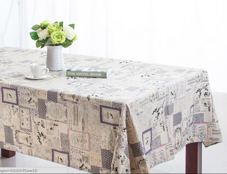 Linen Tablecloth Nappe De Table Multipurpose Table Cloth Toalha De Mesa Party Table Cover Nappe De Table For Home Office(China (Mainland))