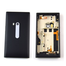 Wholesale Free Shipping !!!100% Original Battery Back Cover housing for Nokia N9 with high quality ,Black(China (Mainland))