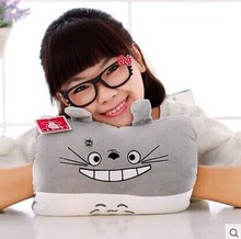 cartoon anime totoro 30cm hand warmer pillow, muff w2803