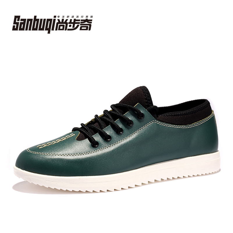 Autumn male  fashion shoes popular mens fashion leather low-top shoes <br><br>Aliexpress