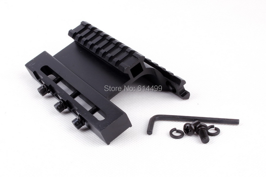 ohhunt tactical ak series gen 3 ak double weaver picatinny rail side mount system for ak74u fit. Black Bedroom Furniture Sets. Home Design Ideas