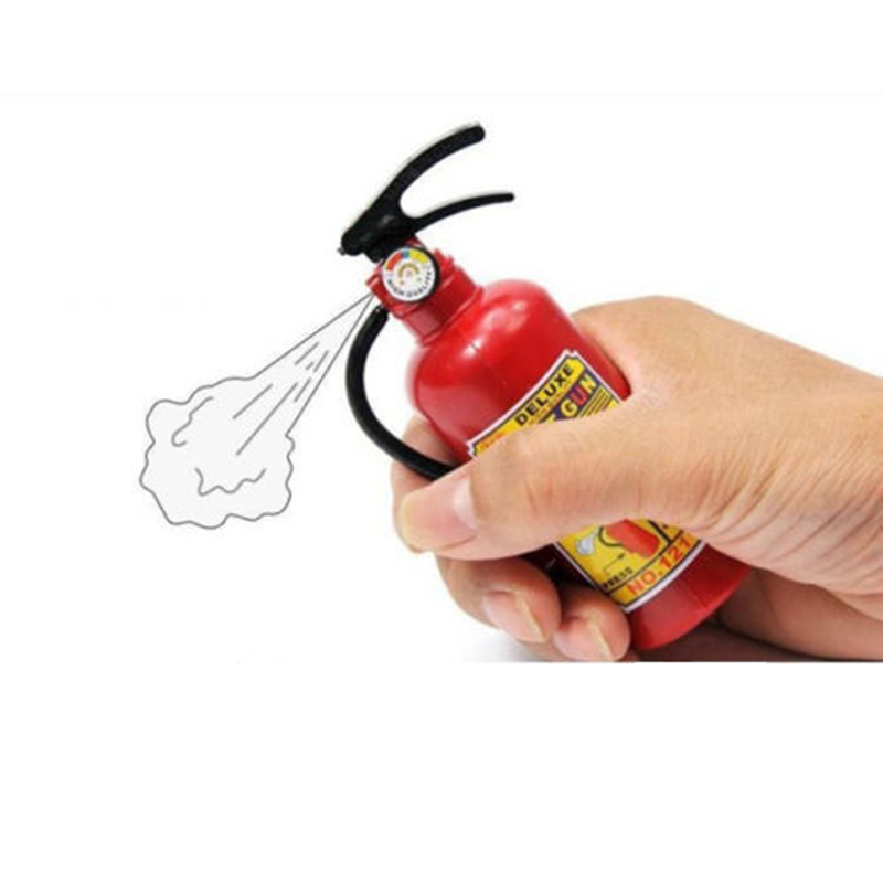 Details about Boy Girl Plastic Water Gun Sprinkler Fire Extinguisher Style Creative Toy Gift(China (Mainland))