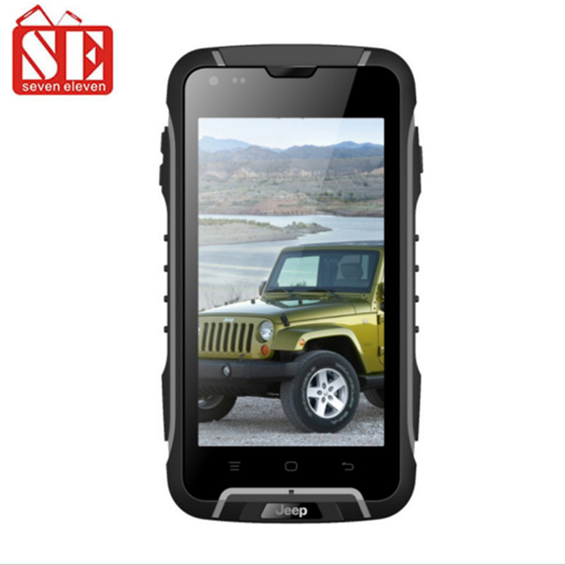 "JEEP F6 SUPPU F6 Waterproof mobile phone MTK6582 quad core 4.5""IPS screen Android 4.4 IP68 rugged 1GB RAM 8GB ROM(China (Mainland))"