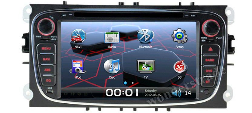 7 car dvd gps navigation radio stereo for ford s max c. Black Bedroom Furniture Sets. Home Design Ideas