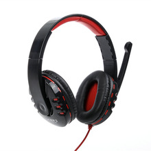 2016 High Quality Stereo Bass Computer Gaming Headset Headphone Earphone With Microphone For Computer Gamer
