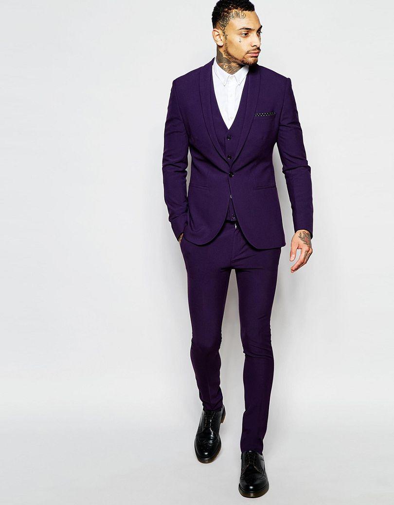 Online Get Cheap Slim Fit Purple Suit -Aliexpress.com | Alibaba Group