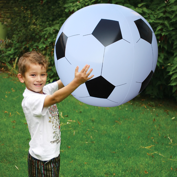 75cm 130cm Gigantic Inflatable Soccer Volleyball Children Outdoor Beach Play Toys Adult Garden Party Supply Kids Giant Football(China (Mainland))